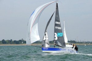 SB20 at Aberdeen Asset Management Cowes Week, 2012