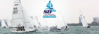 SB20 fleet gathers in Singapore for first ever Asian Grand Slam