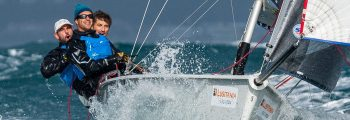 """Lovely brutal"" 2nd SB20 Cascais Winter Series"